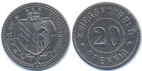 Baden 20 Pfennig Emmendingen - Eisen 1914/18 (Funck 117.3)
