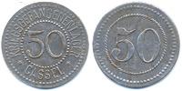 Hessen/Nassau - Kassel 50 Pfennig Kriegsgefangenenlager Cassel (Fr. 12.6.1) POW Camp