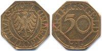 Westfalen 50 Pfennig Dortmund - Messing 1917 (Funck 103.3)