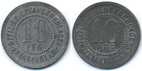 Hessen/Nassau - Frankfurt 10 Pfennig Offizier-Gefangenenlager Frankfurt a. M. (Fr. 24.3) POW Camp