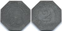 Sachsen/Weimar/Eisenach 2 Pfennig Apolda - Zink 1918 (Funck 18.5)