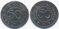 Sachsen/Weimar/Eisenach 50 Pfennig Oldisleben - Eisen ohne Jahr (Funck 408.5)