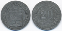 Schleswig/Holstein 20 Pfennig Kellinghusen - Zink ohne Jahr (Funck 238.3)
