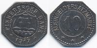 Schleswig/Holstein 10 Pfennig Pinneberg - Eisen 1917 (Funck 425.4b)