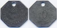 Schleswig/Holstein 10 Pfennig Tönning - Zink 1917 (Funck 542.2)