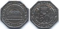 Westfalen 50 Pfennig Hamm – Eisen 1919 (Funck 191.14Aa) mit HK unter Wertzahl