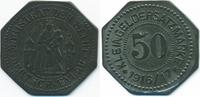 Westpreussen 50 Pfennig Deutsch-Eylau - Zink 1916/17 (Funck 91.1a) Originalprägung