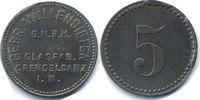 Westfalen - Crengeldanz 5 Pfennig Gebr. Müllensiefen G.M.B.H. Glasfab. Crengeldanz i.W. (Fr. 41.3) POW Camp