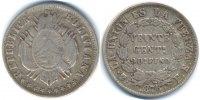 Bolivien - Boliva 20 Centavos Republik – Silber