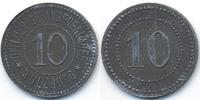 Bayern - Wülzburg 10 Pfennig Offizier-Gefangenenlager Wülzburg (Fr. 80.2) POW Camp