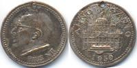 Vatikan - Vatican versilberte Bronzemedaille Pius XII. (1939-58)