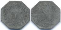 Württemberg 50 Pfennig Herrenberg - Zink 1917 (Funck 209.1)