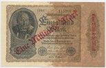 Deutsches Reich Inflation 1919-1924 1 Milliarde Mark Rosenberg Nr. 110e – Firmendruck KN grün FZ und Reihe schwarz