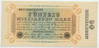 Deutsches Reich Inflation 1919-1924 50 Milliarden Mark Rosenberg Nr. 116h – WZ Kreuzblüten ohne KN ohne FZ