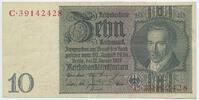 Deutsches Reich Reichsbank 1924-1945 10 Reichsmark Rosenberg Nr. 173b – Zwischenform Udr.-Bst. E Serie C