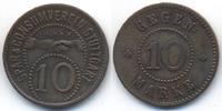 Württemberg - Stuttgart 10 Pfennig Spar & Consumverein Stuttgart E.G.M.B.H. (Menzel 24572.3)