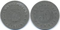 Bayern 50 Pfennig Kötzting - Zink ohne Jahr (Funck 253.6A) Rand geriffelt