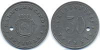 Bayern 50 Pfennig Kötzting - Zink ohne Jahr (Funck 253.6B) Rand geriffelt Angebotsmuster