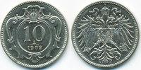Haus Habsburg 10 Heller Franz Joseph I. 1848-1916
