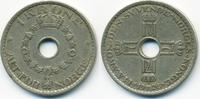 Norwegen - Norway 1 Krone Haakon VII. 1905-1957