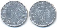 Drittes Reich 50 Reichspfennig Aluminium