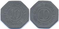 Bayern 10 Pfennig Berching - Zink 1917 (Funck 35.2)