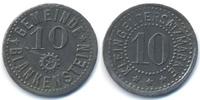 Reuss 10 Pfennig Blankenstein - Zink ohne Jahr (Funck 46.4A)