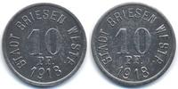 Westpreussen 10 Pfennig Briesen - Eisen 1918 (Funck 59.2b)