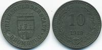 Posen 10 Pfennig Bromberg - Zink 1919 (Funck 60.1A) Durchmesser 19,00 mm