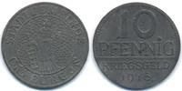 Sachsen/Meiningen 10 Pfennig Camburg - Zink 1918 (Funck 75.2)