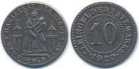 Westpreussen 10 Pfennig Deutsch-Eylau - Eisen 1920 (Funck 91.6b)