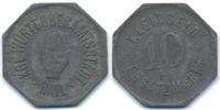 Württemberg 10 Pfennig Hall - Zink ohne Jahr (Funck 186.2)