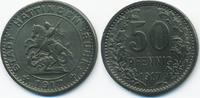 Westfalen 50 Pfennig Hattingen, Stadt - Zink 1917 (Funck 196.2)