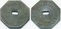 Oberschlesien 50 Pfennig Hindenburg - Eisen 1918 (Funck 213.1Ag)