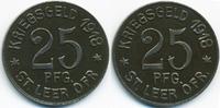 Hannover 25 Pfennig Leer - Eisen 1918 (Funck 282.1)