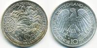 BRD 10 DM 30 Jahre Römische Verträge