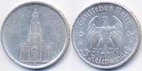 Drittes Reich 5 Reichsmark Garnisonskirche ohne Datum