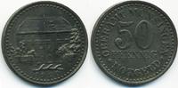 Württemberg 50 Pfennig Münsingen - Eisen 1920 (Funck 349.2)