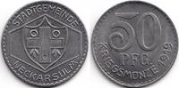 Bayern 50 Pfennig Neckarsulm - Eisen 1919 (Funck 357.2)
