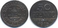 Baden 50 Pfennig Offenburg - Eisen 1918 (Funck 403.2A)