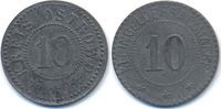 Posen 10 Pfennig Ostrowo - Zink ohne Jahr (Funck 415.1Ae) Originalprägung