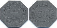 Hannover 50 Pfennig Quakenbrück - Zink 1917 (Funck 434.3)