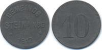 Bayern 10 Pfennig Stein b. Nbg. - Zink 1917 (Funck 517.2)