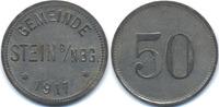 Bayern 50 Pfennig Stein b. Nbg. – Zink vernickelt 1917 (Funck 517.3)