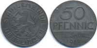 Baden 50 Pfennig Überlingen - Zink 1917 (Funck 553.2)