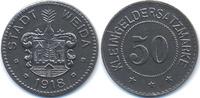 Sachsen/Weimar/Eisenach 50 Pfennig Weida - Eisen 1918 (Funck 581.6a)