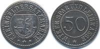 Schleswig/Holstein 50 Pfennig Wyk a. F. - Eisen ohne Jahr (Funck 618.3A)
