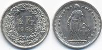 Schweiz - Switzerland 1/2 Franken Eidgenossenschaft