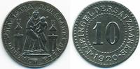 Westpreussen 10 Pfennig Deutsch-Eylau - Eisen 1920 (Funck 91.6a)