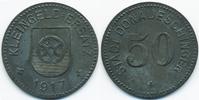 Baden 50 Pfennig Donaueschingen - Zink 1917 (Funck 101.2a)